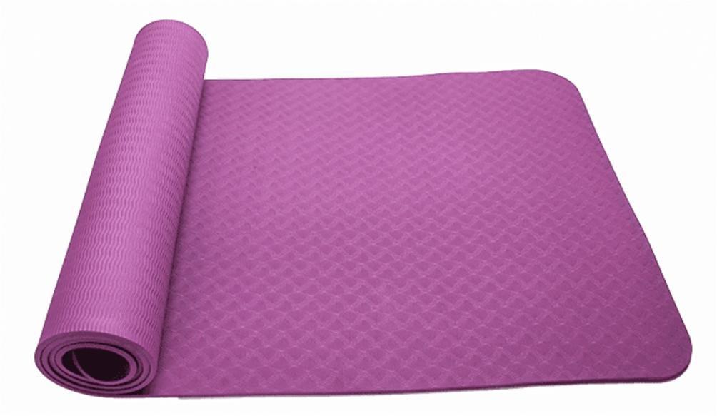 JD Weitenverstellung und Haarverdichtung Umweltschutz Rutschfeste Yogamatte Fitnessmatte Tanzmatte