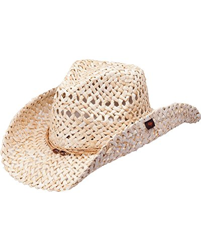 7bb26a2daa44a Peter Grimm Ltd Women s Ford Natural Straw Cowgirl Hat Natural One ...