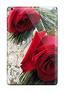 Queenie Shane Bright's Shop New Premium Case Cover For Ipad Mini/ Red Roses Protective Case Cover