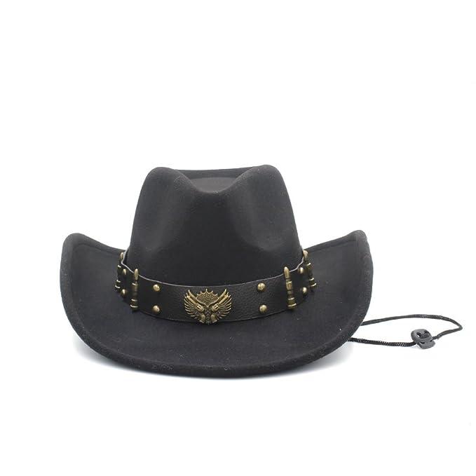 fd7655a65f SMC Hat - Sombrero de cowboy - para mujer Marrón café 56 cm-58 cm   Amazon.es  Ropa y accesorios
