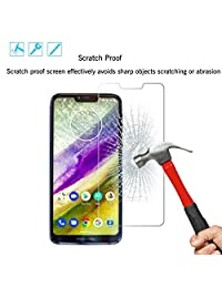 Ailun Screen Protector Compatible with Moto G7 Power 3 Pack 9H Hardness Tempered Glass Screen Protector for Motorola Moto G7 Power Bubble   Anti Scratch Oil Stain Coating Case Friendly
