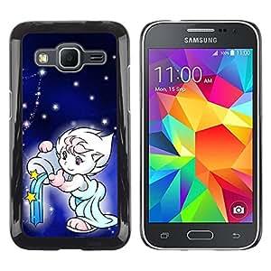 Paccase / SLIM PC / Aliminium Casa Carcasa Funda Case Cover - Cute Fantasy - Samsung Galaxy Core Prime SM-G360
