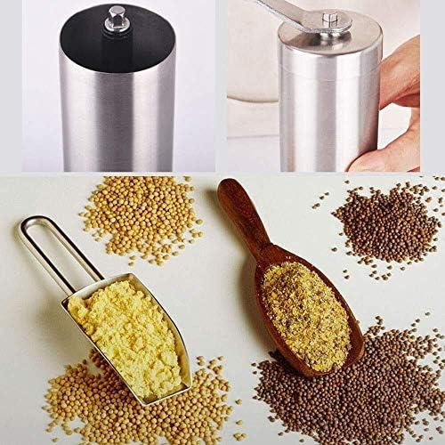 HL-TD Salz- Und Pfeffermühle Grinder, Gewürzstreuer, Kaffeemühle, Handschleifmühle, Edelstahl-Maschine Mühle