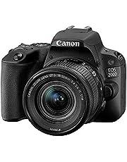 Canon EOS Rebel SL2 DSLR Camera with EF-S 18-55mm STM Lens - WiFi Enabled, Black - 2249C002