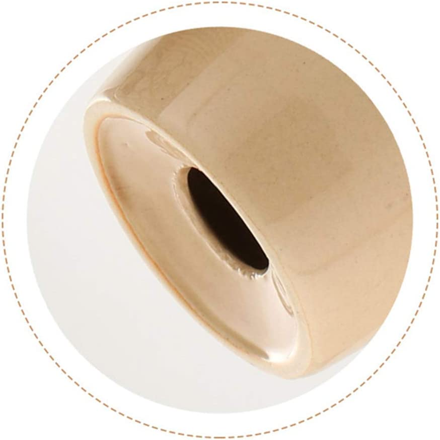 Juego de accesorios de ba/ño moderno simple de cer/ámica 1 jabonera y 1 dispensador de jab/ón textura mate aerodin/ámico el juego completo incluye 1 vaso beige 1 soporte para cepillo de dientes