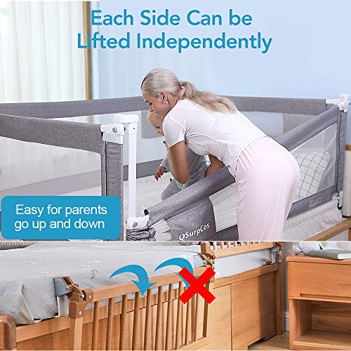 """baby products, nursery, furniture,  furniture collections 8 discount SURPCOS Bed Rails for Toddlers - 60"""" 70"""" 80 promotion"""