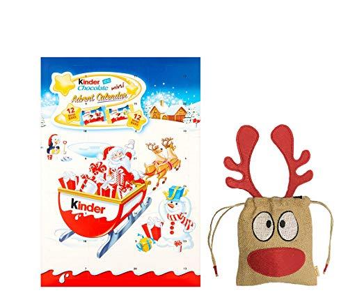 Kinder Advent Calendar 135g | British Christmas Candy Advent Calendar Chocolate UK | British Christmas Shop | Imported from UK