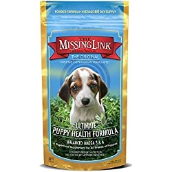The Missing Link - Original All Natural Omega & Superfood Puppy Supplement - Healthy Skin & Coat & Immune System - 8oz