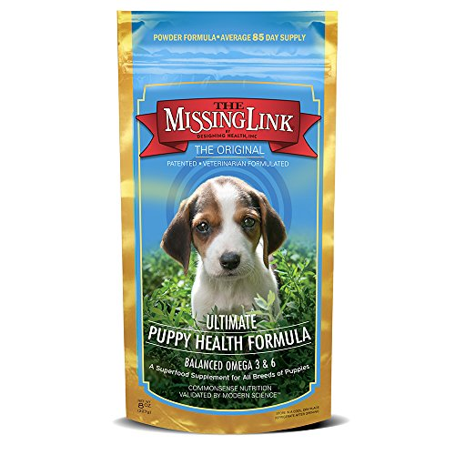 The Missing Link Original All Natural Omega & Superfood Puppy Supplement – Healthy Skin & Coat & Immune System – 8oz