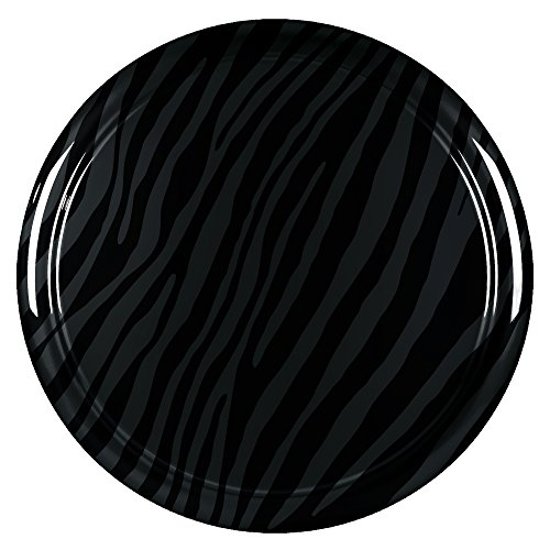 32'' Zebra Print - Color Matched Rigid Tire Cover (Plastic Face & Vinyl Band) - Jeep Wrangler (JK) - Rhino by Boomerang (Image #1)