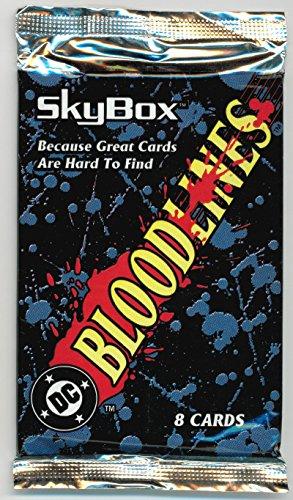 1993 Bloodlines Sealed Trading Card Pack