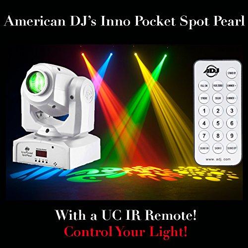 ADJ Inno Pocket Spot Pearl with UC IR Remote
