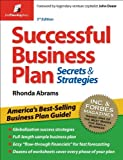 Successful Business Plan: Secrets & Strategies, Rhonda Abrams, 1933895144