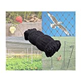 Mcage 50' X 50' Net Netting for Bird Poultry Aviary Chickens Game Pens