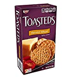 Keebler, Toasteds, Crackers, Harvest Wheat (Pack of 16)