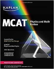 Mcat math review pdf creators