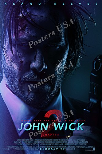 Posters Usa   John Wick 2 Movie Poster Glossy Finish    Mov662  24  X 36   61Cm X 91 5Cm