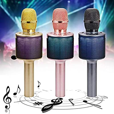 L666 Colorful Flash Light Karaoke Stage Smartphone Wireless ...