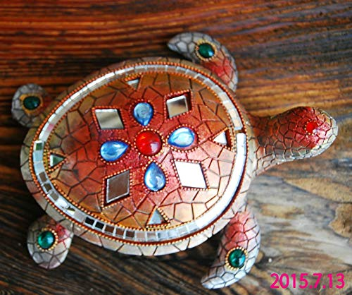(ZAMTAC Creative Resin Crafts Ornaments Home Furnishing Tortoise Defends The Anti Villain feng Shui Supplies)
