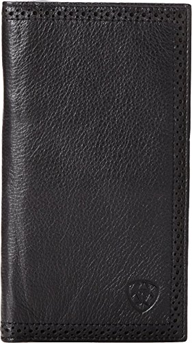 erforated Edge Rodeo Wallet Wallet Black One Size ()