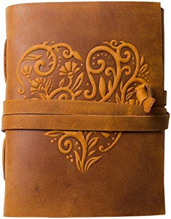 Leather Journal Women Beautiful Sketchbook product image