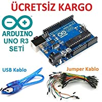 Arduino UNO R3 Dip CH340 Chipset (USB Kablo Hediye)
