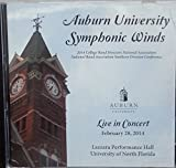 img - for Auburn University Symphonic Winds Live in Concefrt February 28, 2014 (MUSIC CD) book / textbook / text book