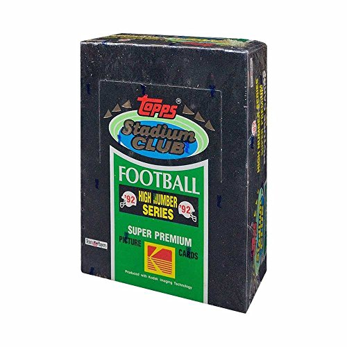1992 Topps Stadium Club High Number Football Box ()