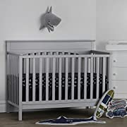 Suite Bebe Harley 4-in-1 Convertible Crib Cloud Grey