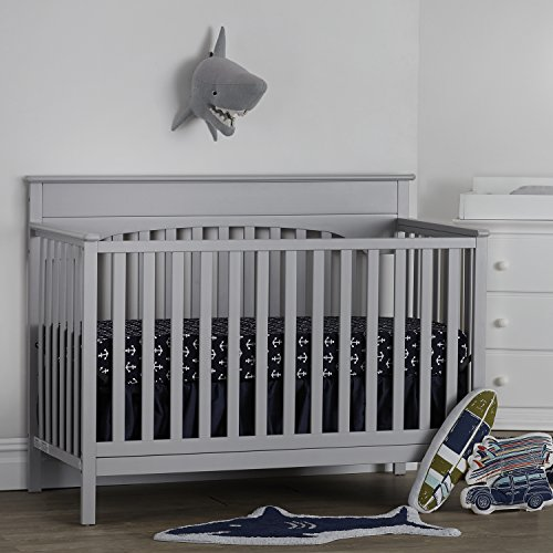 Suite Bebe Harley 4 In 1 Convertible Crib Cloud Grey