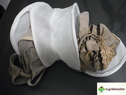 [Cycleloador Mesh Bra Hosiery Wash Bag (2)] (The Elf Costume Prices)