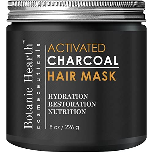 Hot Botanic Hearth Charcoal Hair Mask - Natural Hair Care Product, Hydrating & Restorative Hair Mask, 8 fl oz supplier