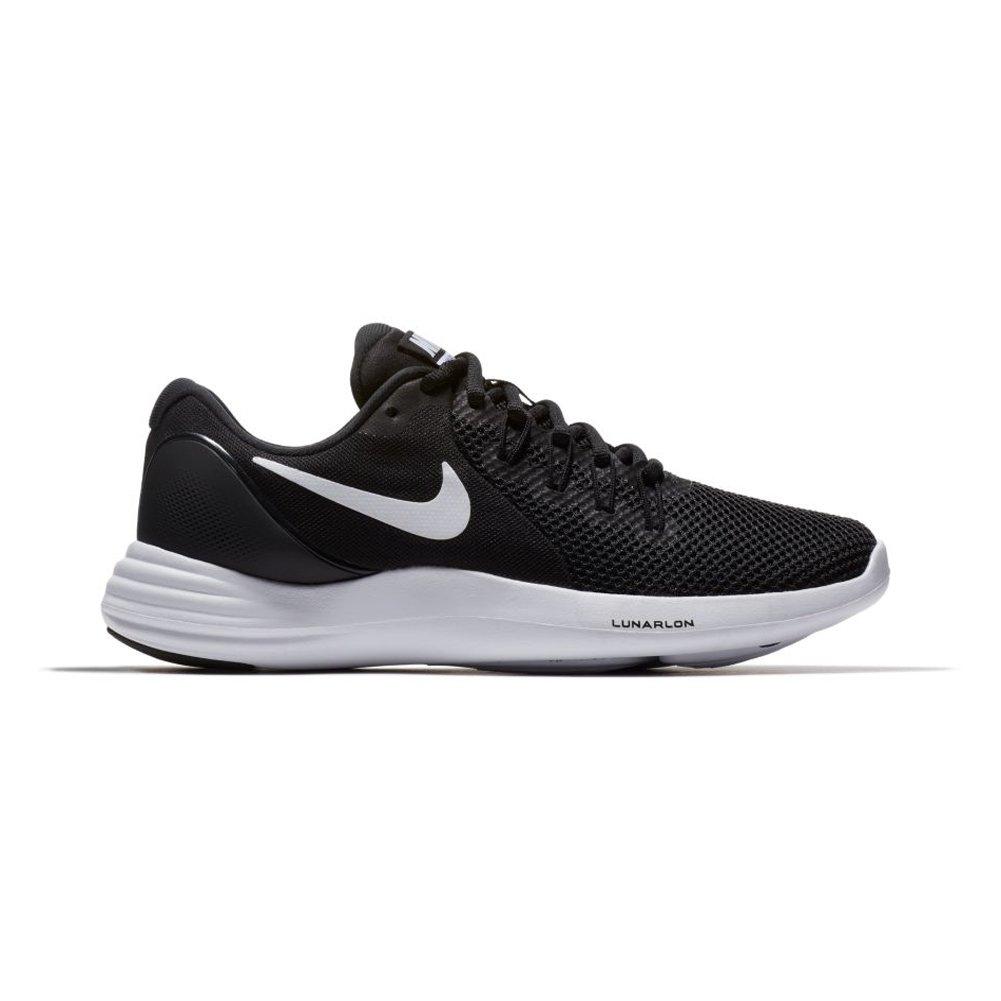 Nike New Woherren Lunar apparent apparent apparent Running schuhe schwarz Weiß grau 9.5 fbfdbc