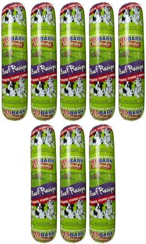 Red Barn Beef Dog Food Roll 32Lbs (8 x 4Lb) (Dog Beef Food Rolls)