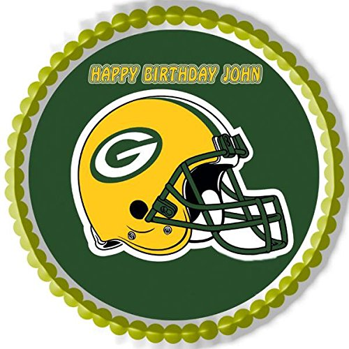 GREENBAY PACKERS - Edible Cake Topper - 7.5
