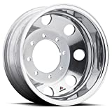 Accuride 22.5'' x 8.25'' Polished Aluminum 8 Lug Drive / Trailer Wheel (29348AIP)