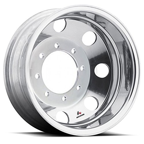 Accuride 19.5'' Polished Wheel Package 8 on 275mm GM or Chevy c4500 / c5500 by Accuride (Image #2)