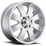 Ultra Wheel 243S Mako Silver Wheel (17x8