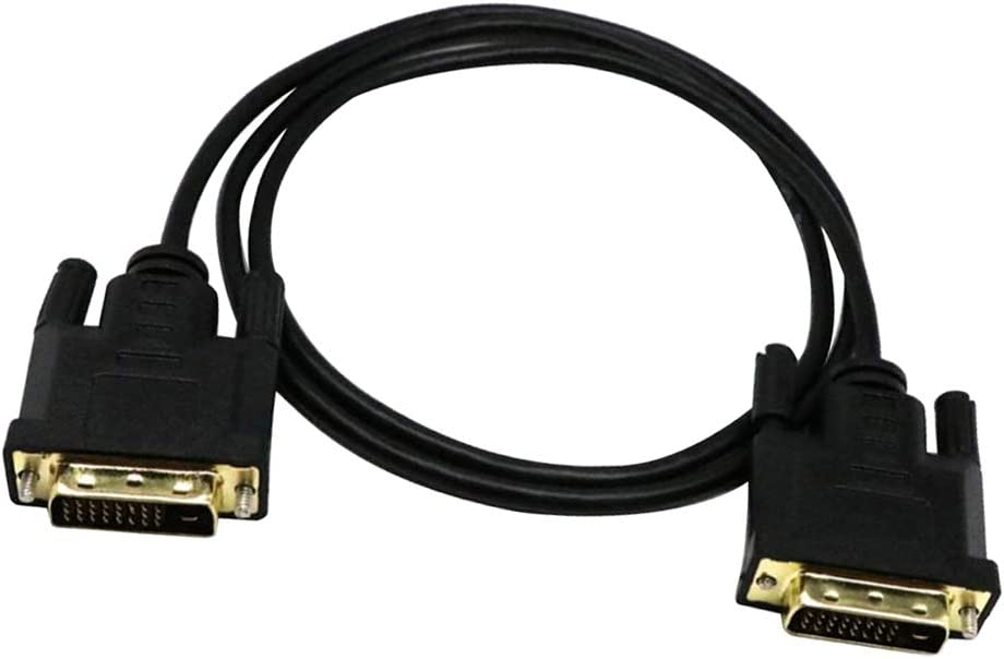 F Fityle Adaptateur de C/âble Plaqu/é Or pour C/âble DVI M/âle /à C/âble M/âle DVI Vers HDTV 3m