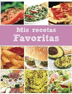 Mis recetas favoritas Rosa: Libro en blanco (Spanish Edition)