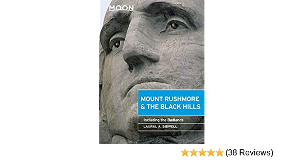 Including the Badlands Moon Mount Rushmore /& the Black Hills