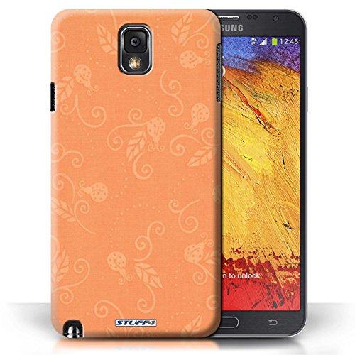Etui / Coque pour Samsung Galaxy Note 3 / Pêche conception / Collection de Motif Coccinelle