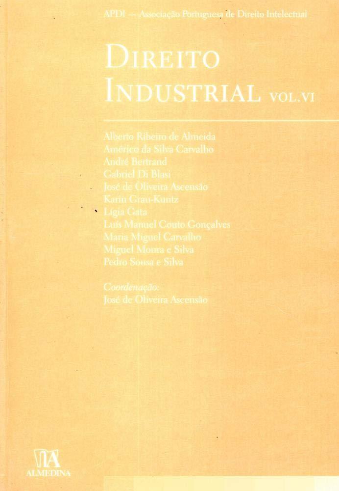 Direito Industrial - Volume 6 (Em Portuguese do Brasil) pdf