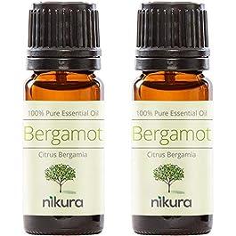 100% Pure Bergamot Essential Oil 10ml, 50ml, 100ml (2 x 10ml)