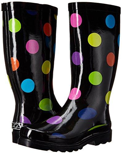 Rain Dot Raffle multi Shoe Sugar Black Women's WxORnH7FE