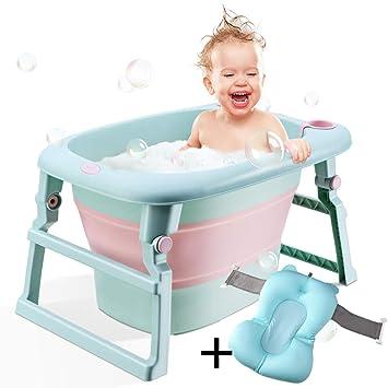 Amazon.com: Bewave Bañera de bebé plegable, portátil ...