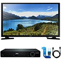 Samsung UN32J4000 32-Inch 720p LED TV w/ HDMI DVD Player Bundle Includes, HDMI 1080p High Definition DVD Player with USB Port, 6ft High Speed HDMI Cable and LED TV Screen Cleaner