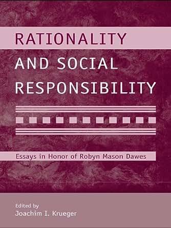 Essays social responsibility