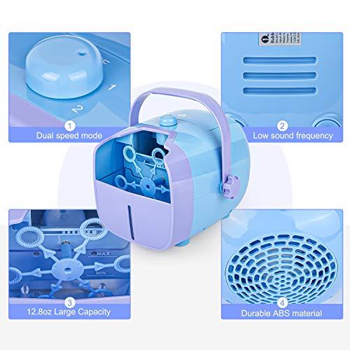 per Min Bubble Blower Handheld Bubble Machine Automatic Bubble Maker Party 3000