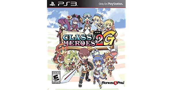 Amazon com: Class Of Heroes 2G - PS3: Video Games
